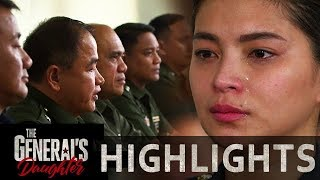 Rhian tears up as she faces her sentence   The General's Daughter (With Eng Subs)