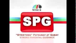 MTRCB Original SPG Classification Rating/Advisory (Graphics Edit)