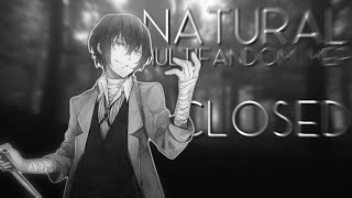 Natural | Multifandomᴹᴱᴾ | CLOSED [7/19 DONE]