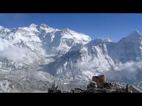 Kangchenjunga from Drohmo Ri