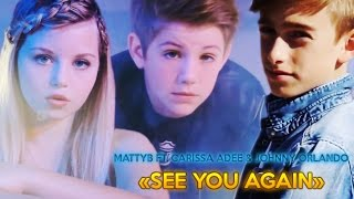Wiz Khalifa - See You Again ft. Charlie Puth(MattyBRaps ft. Carissa Adee & Johnny Orlando cover)