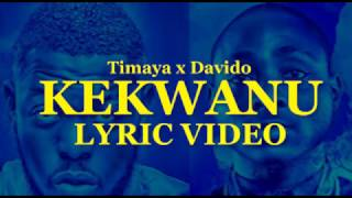 Timaya ft Davido - Kekwanu Lyric Video