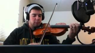 I'm Shipping Up To Boston (Violin Cover) - Dropkick Murphys - Nathan Hutson