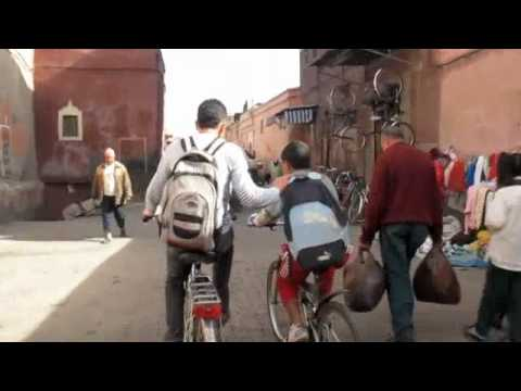 Marrakech Medina by Scooter