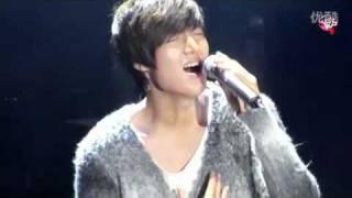 Lee Min Ho new song (be my last love)李敏镐新歌 021211 shanghai fm
