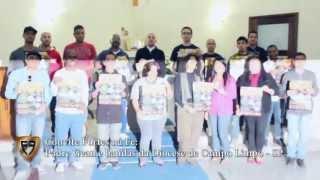 Convite Fortes na Fé - Padre Gean e bandas da Diocese de Campo Limpo