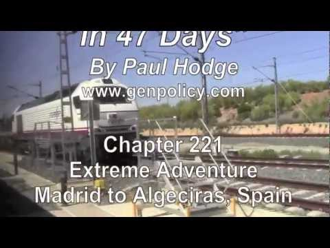 PAUL HODGE: MADRID TO AFRICA, SOLO AROUND WORLD IN 47 DAYS, Ch 221, Amazing World in Minutes