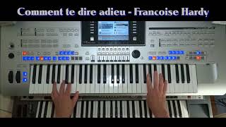 cha cha cha - Comment te dire adieu - Francoise Hardy intrumental cover