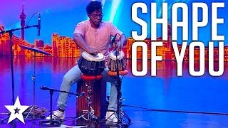 Ed Sheeran Shape Of You Cover on SA's Got Talent 2017