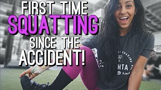 First Time Squatting Since The Accident! | Episode 41