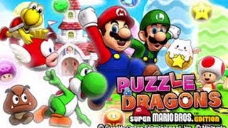 Puzzle And Dragons: Super Mario Bros Edition - Update And Release Date