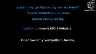 Muzyka #10 Gang Albanii - Jedziemy do Dubaju [Karaoke] [Podkład] [Lyrics]