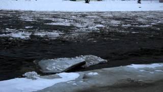 Ladova rieka Orava