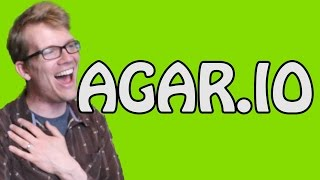 Hank Green Plays AGAR.IO