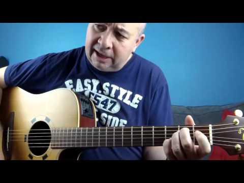 Comment jouer chez Laurette de Michel Delpech à la guitare