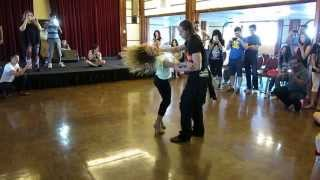 Ellie Goulding - High For This - Hot Zouk Dance! Aline Cleto & Jeremey Adam Rey - LA Zouk Congress