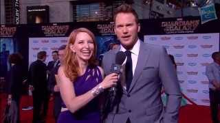 Chris Pratt Sings A Track from Marvel's Guardians of the Galaxy Soundtrack