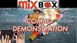 TEKKEN 7 |  Mixbox Combo Demonstration