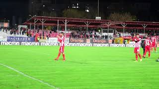 Final de meci: Dinamo-Cfr 0-2