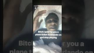 NBA YOUNGBOY GOES OFF ON DANIELLE BREGOLI SAYING SHES A LIER !!!