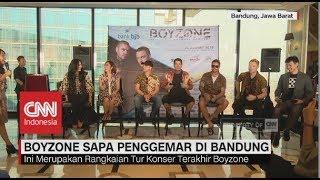 Boyzone Sapa Penggemar di Bandung
