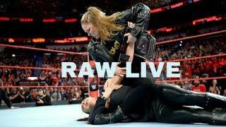 Ronda Rouse Breaks Stephanie McMahon Hand