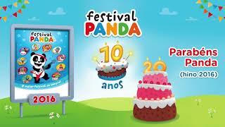 PARABÉNS PANDA - FESTIVAL PANDA  ( áudio oficial )