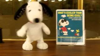 Snoopy Celebrates Library Card Sign-Up Month