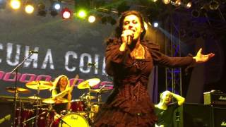Lacuna Coil - Heaven's a Lie (Live featuring Simone Simons of Epica) @ 70000 Tons of Metal