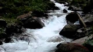 Listen to the Relaxing Music of Nature an Ice Cold Mountain Stream