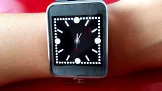 Jewel Clock / Analog watch face for Samsung Gear 2 and Gear Neo