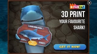 3D PRINT YOUR FAVORITE SHARK! - Hungry Shark Evolution
