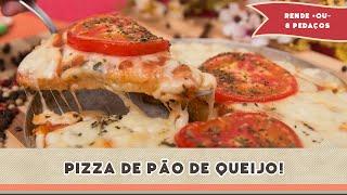 Pizza de Pão de Queijo - Receitas de Minuto #164