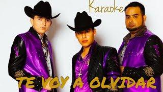 Te Voy A Olvidar - Karaoke Estilo Campirano - Ariel Camacho y Los Plebes Del Rancho