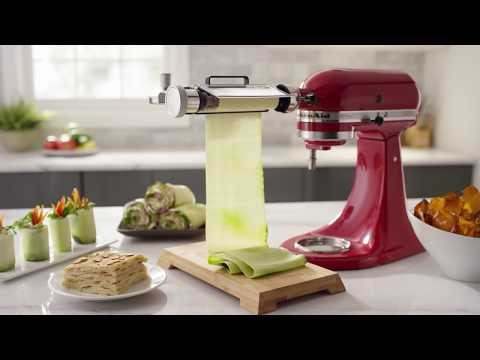 KitchenAid® Vegetable Sheet Cutter Overview