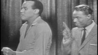 Nat King Cole & Harry Belafonte Mama Look A Boo Boo NBCTV '57Z