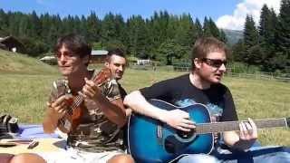 Sweat (A La La Long) cover Inner Circle - Ukulele Acoustic @ Castello Tesino (TN)