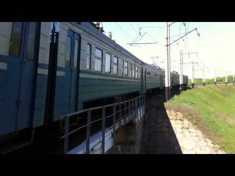 Ukrainian electric train