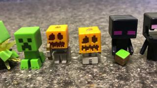 Minecraft mini-figures chest series. All 72 figures