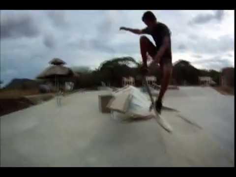 Concrete Waves in Nicaragua – Surf Ranch Resort – Skateboarding