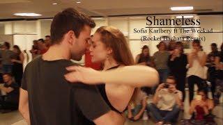 Tiago & Jessica   Shameless - Sofia Karlbery ft Weeknd   Rocket Remix   Bachata