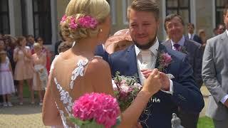 Nádherná svatba na Hluboké