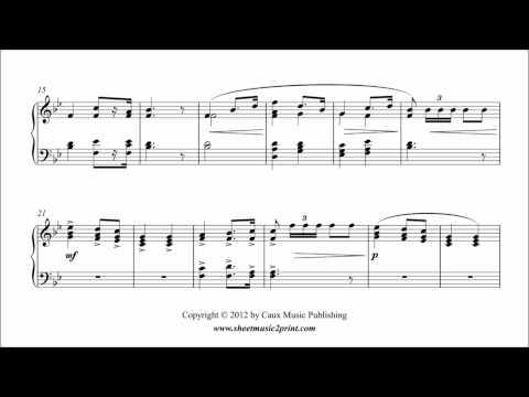 Partition de la marche nuptiale de Richard Wagner