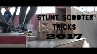 Stunt Scooter Tricks 2017