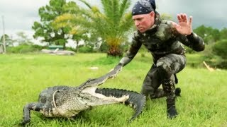 Gator Saved from Hunter's Bullet | Gator Boys width=