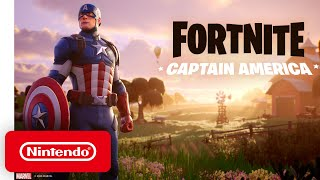 Captain America Takes A Break From The Avengers To Play Some Fortnite