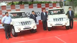 Mahindra Launches Stylish New Bolero Pick Up Flat Bed