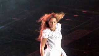 Beyoncé -  Run the world - live manchester 9 may 2013 - HD