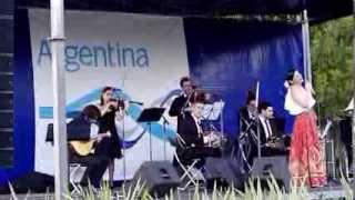 Katia Guerreiro com a Seleccion Nacional de Tango