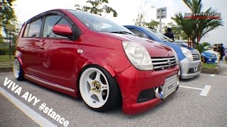 Daihatsu Avy Red Stance | Meet and Greet Stance Collaboration 2016